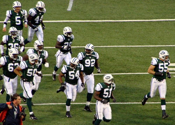 The 2007 Jets Take The Field